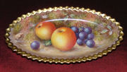 ROYAL WORCESTER FRUIT PAINTED ITEMS