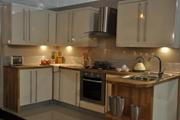 Cream High Gloss Kitchen For Sale