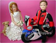 Bike Cake Toppers